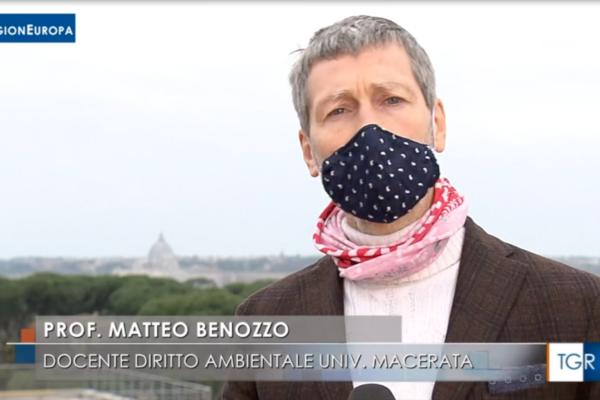 Piano di mobilità sostenibile: il prof. Matteo Benozzo sulle prospettive Green mobility in Europa e in Italia